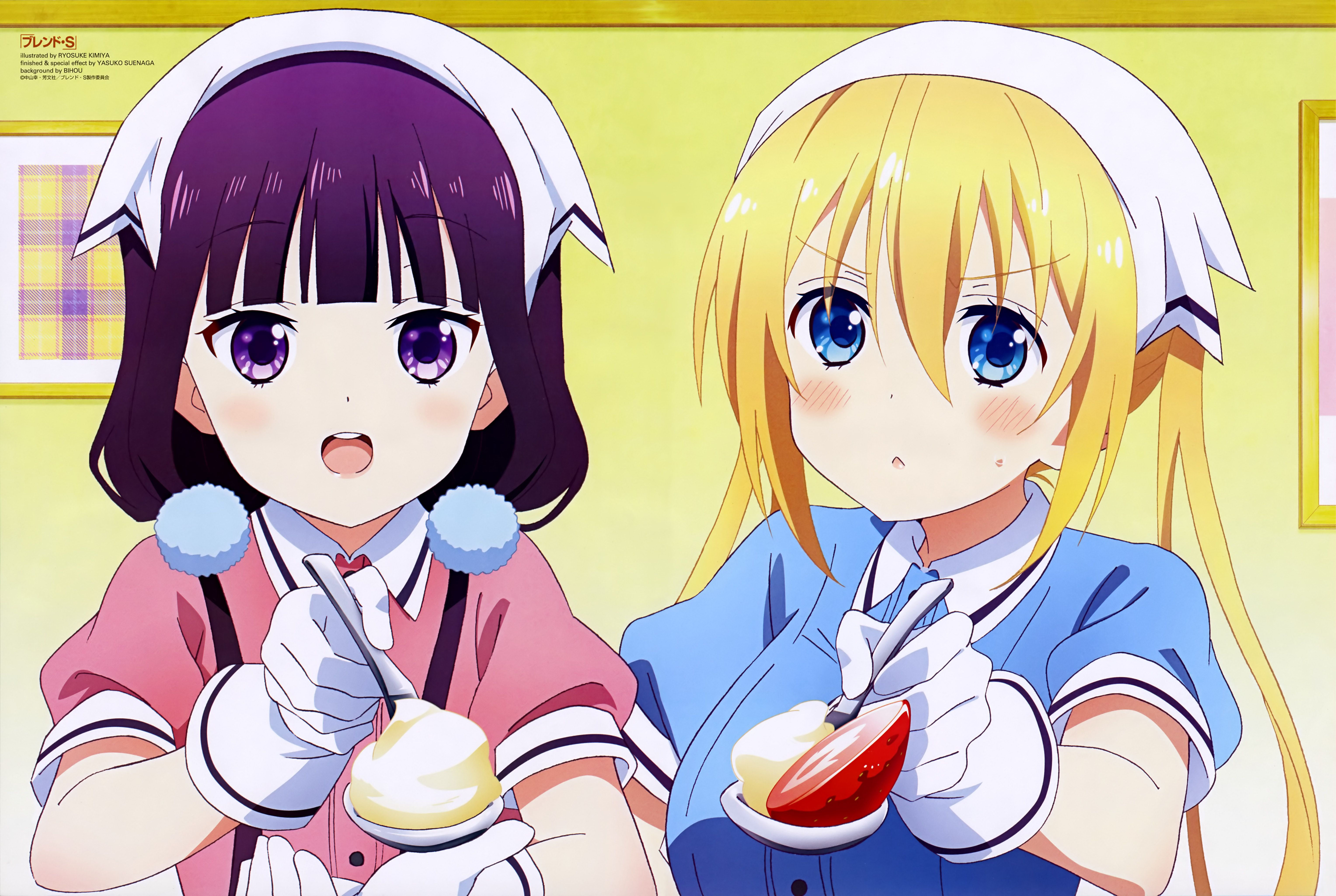 Blend S - Wallpaper and Scan Gallery - Minitokyo
