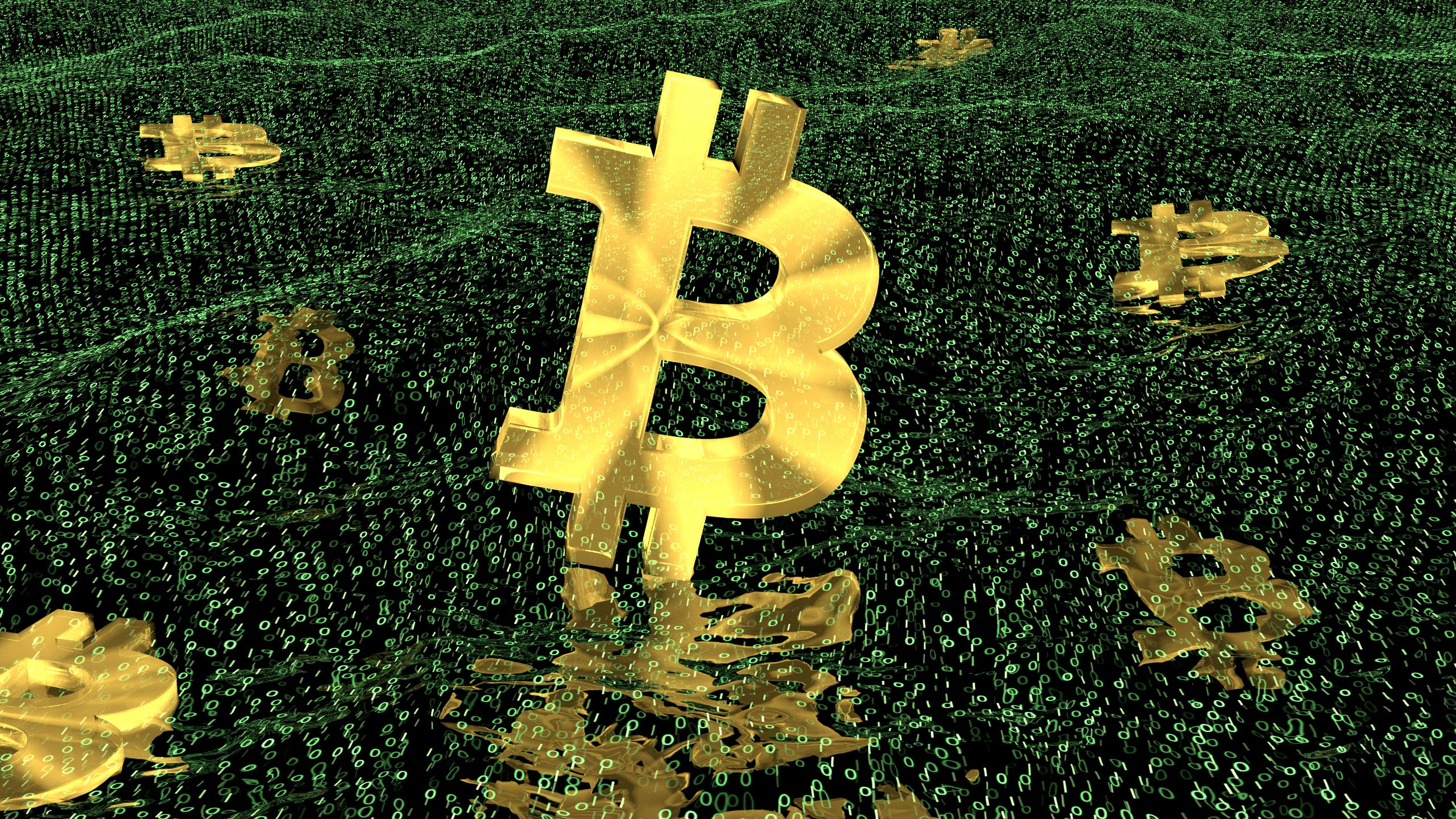 Bitcoin 3D renders - Free to use as wallpaper, for promotion, or ...