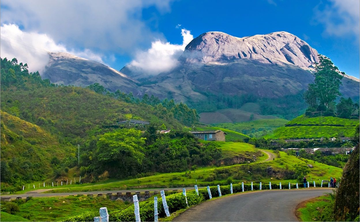 Kerala: Munnar in South India , Beautiful Hill Station Wallpapers ...