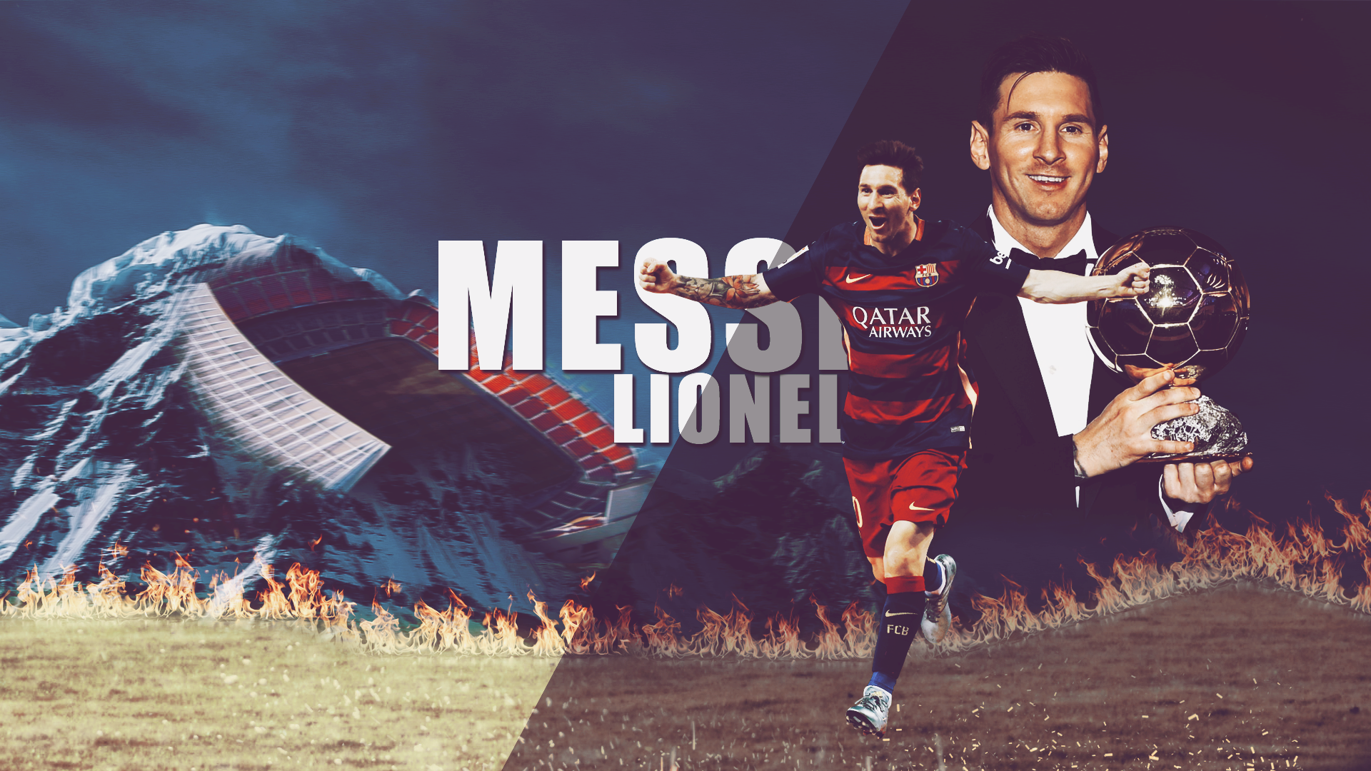Lionel Messi 2016 Balon D Or Winner Wallpaper #2985 Wallpaper ...