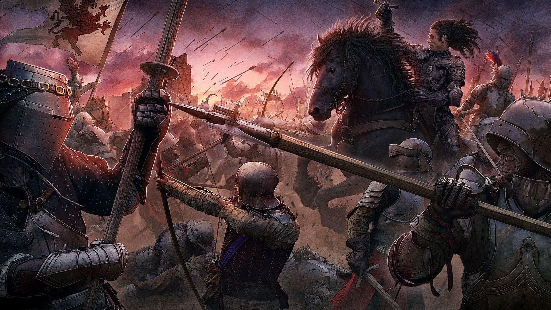 1920x1080 Kerem Beyit, Knights, Medieval Style, Cg Wallpapers, The ...