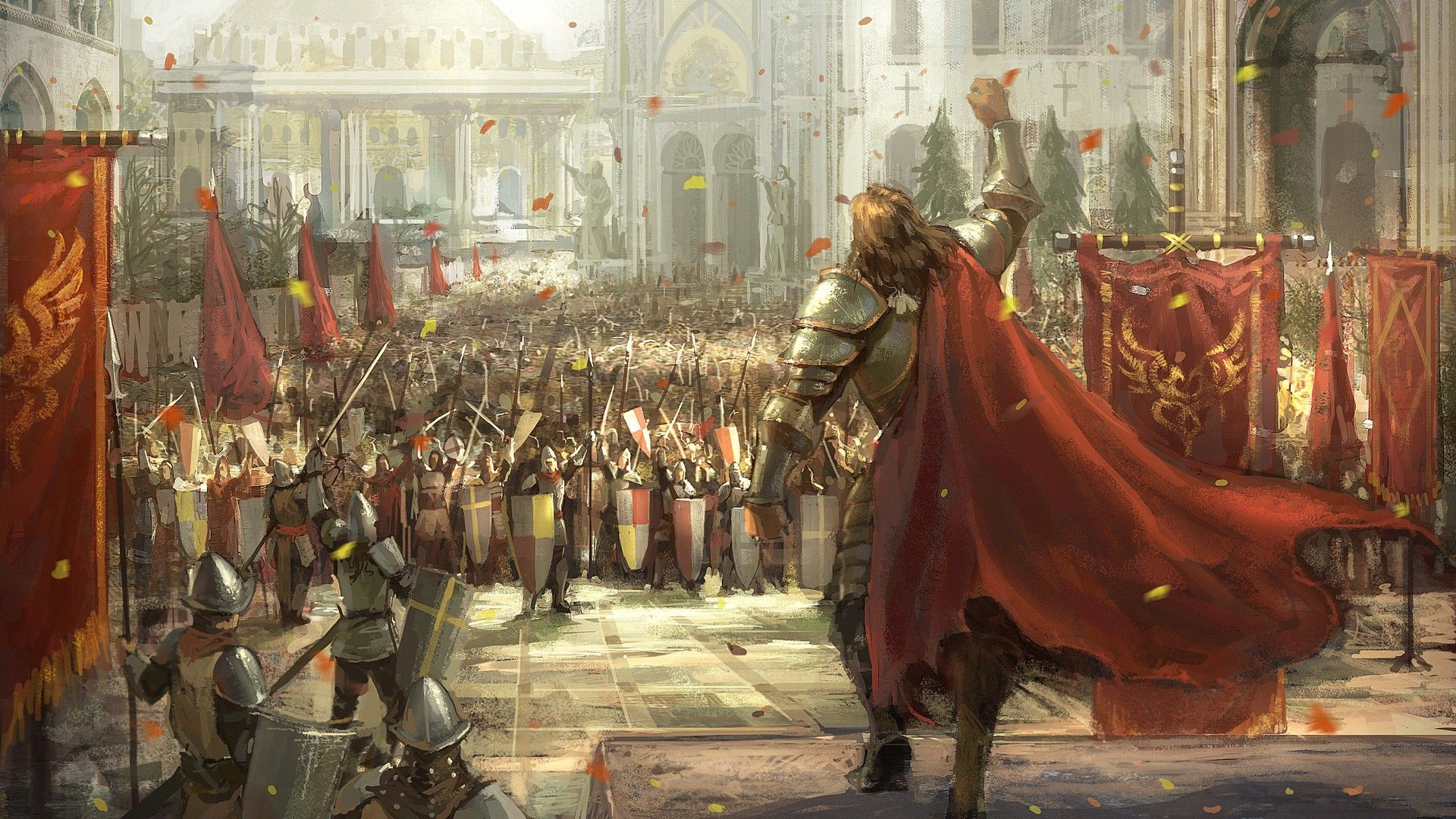 video games, army, medieval :: Wallpapers