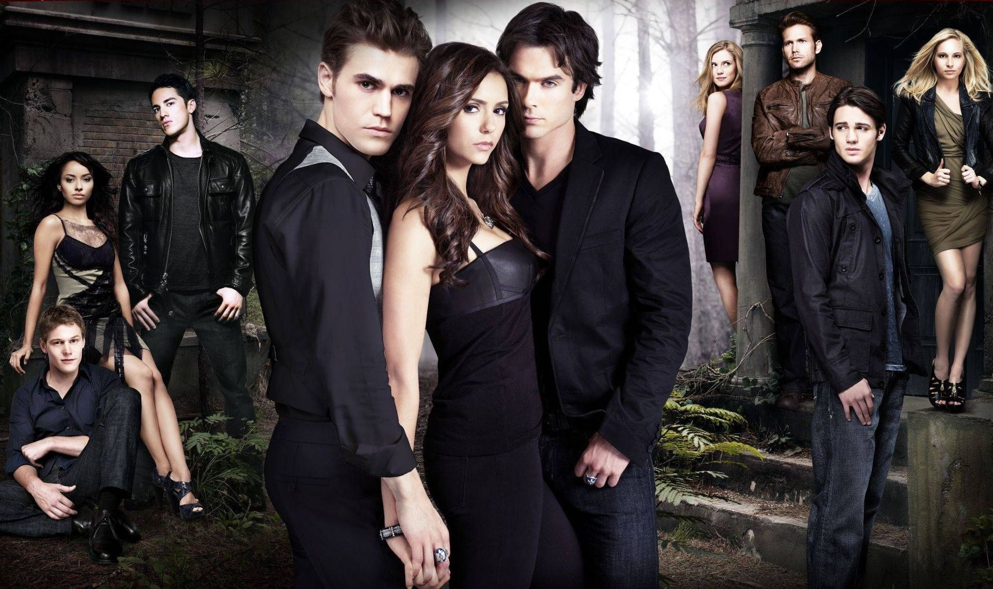 The Vampire Diaries - wallpaper.