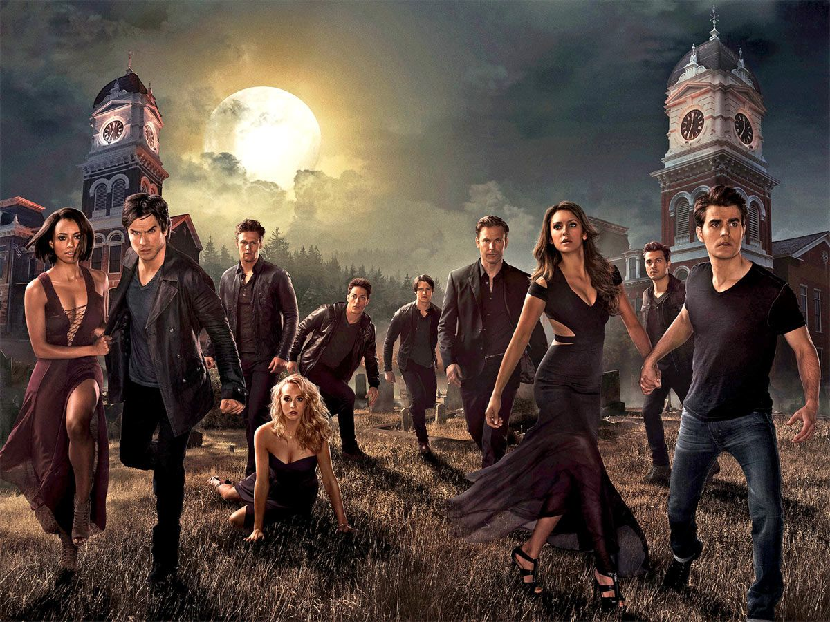 The Vampire Diaries Season 6 Photoshoot - wallpaper.