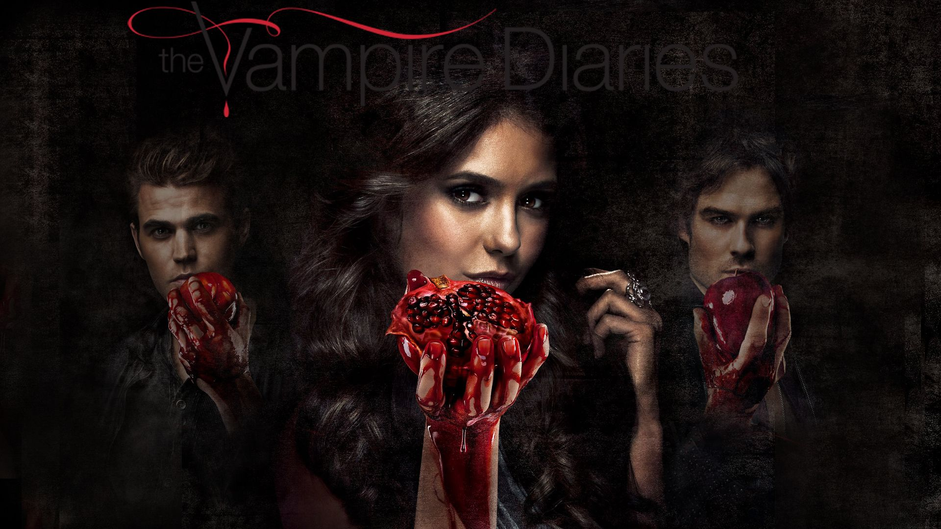 The Vampire Diaries Wallpaper - QyGjxZ