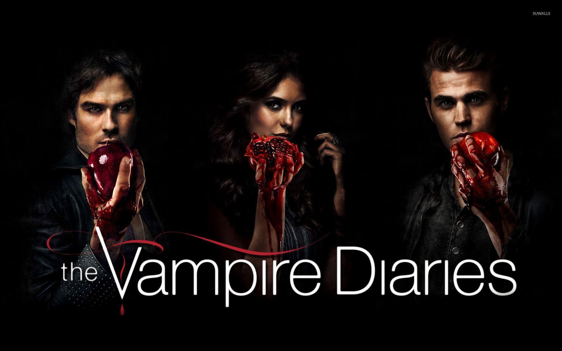 The Vampire Diaries [10] wallpaper - TV Show wallpapers - #14980