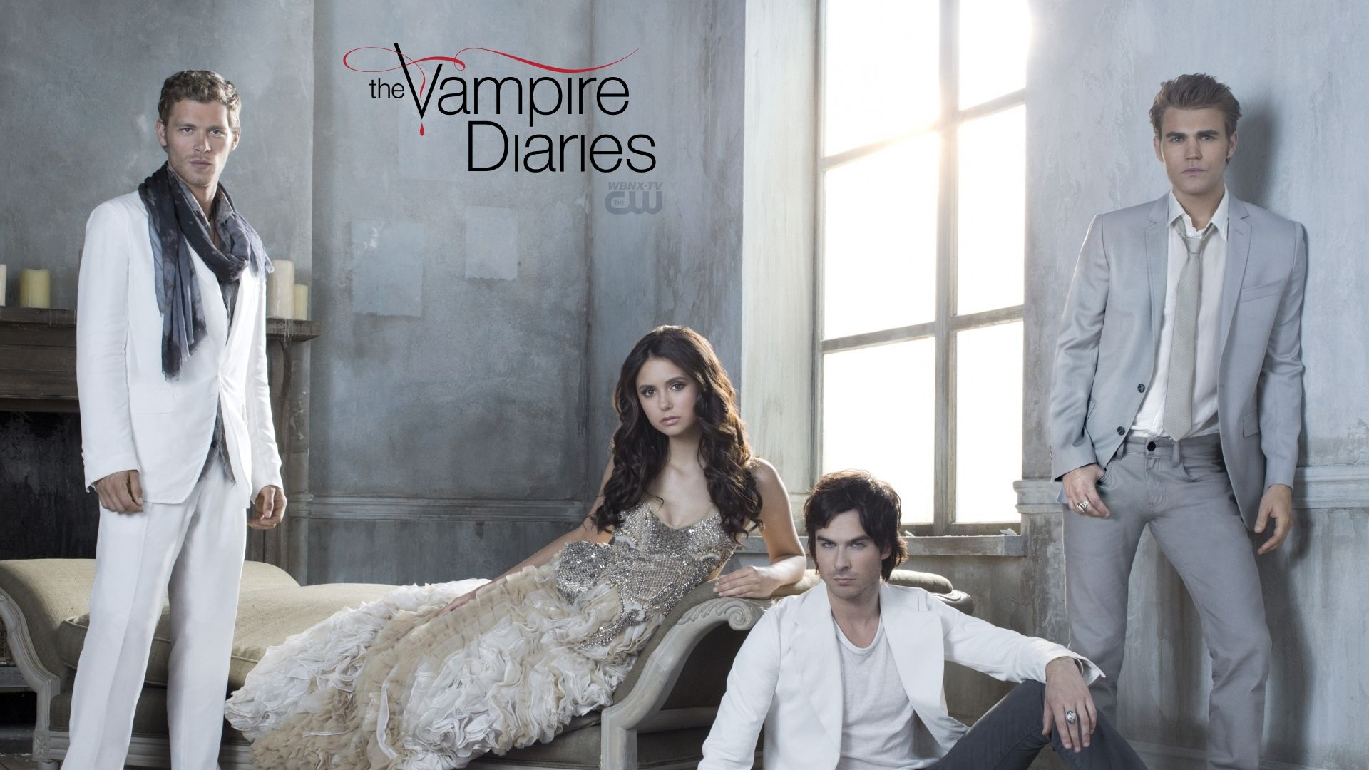 Download Wallpaper 1920x1080 The vampire diaries, Nina dobrev ...