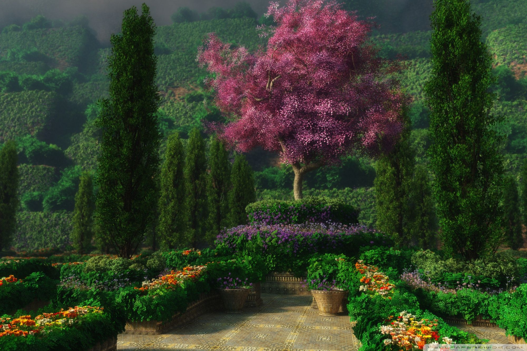3D Garden ❤ 4K HD Desktop Wallpaper for 4K Ultra HD TV • Wide ...