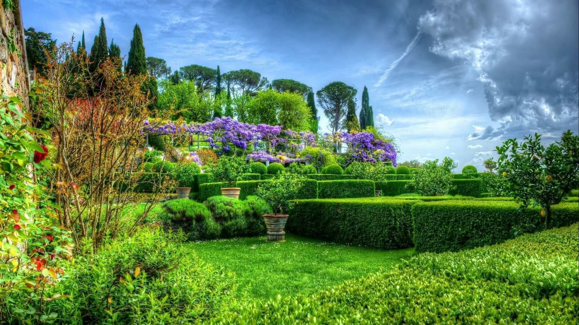 Full HD 1080p Garden Wallpapers HD, Desktop Backgrounds 1920x1080 ...