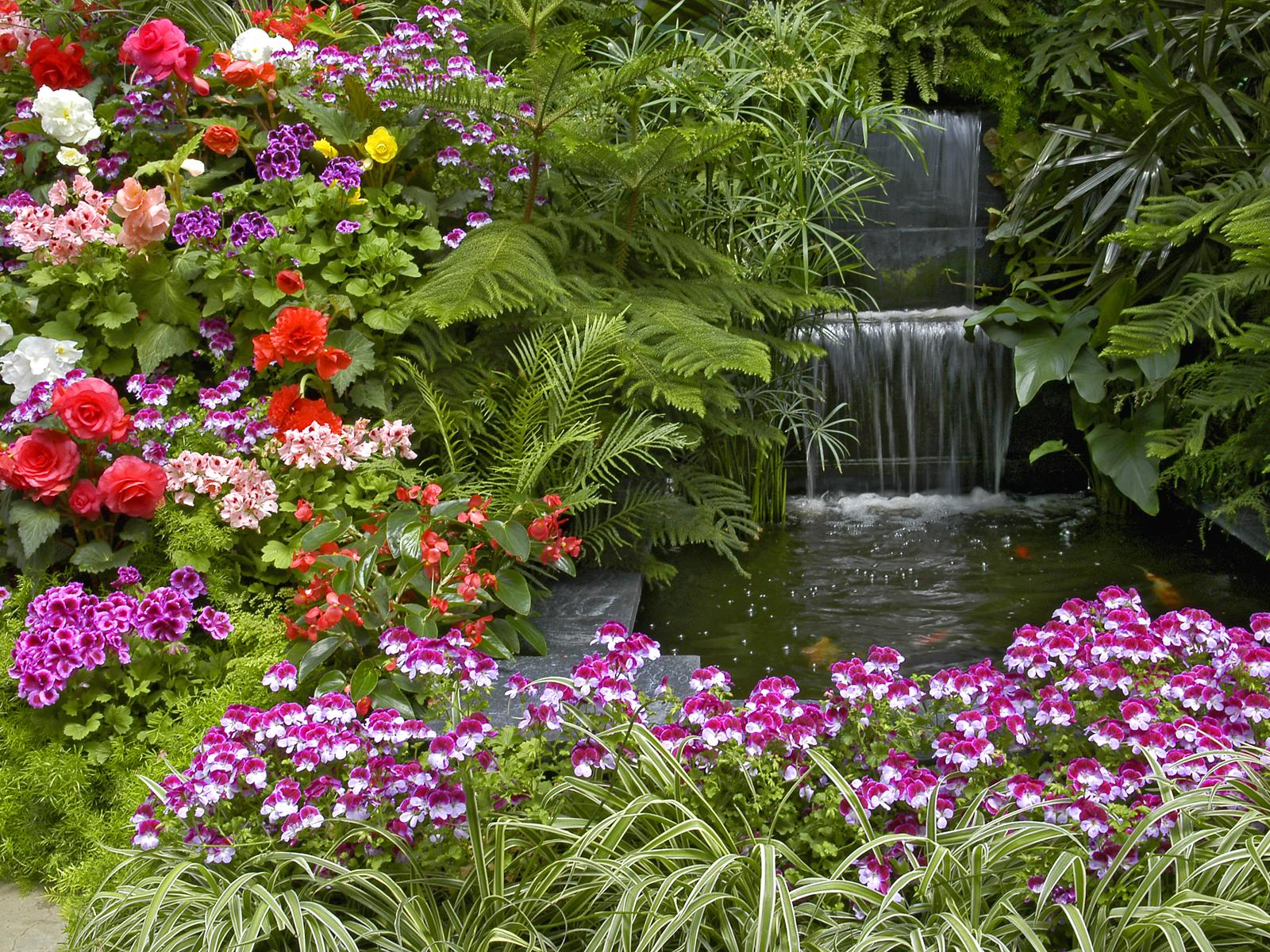Garden Hd Wallpapers For Desktop 3D