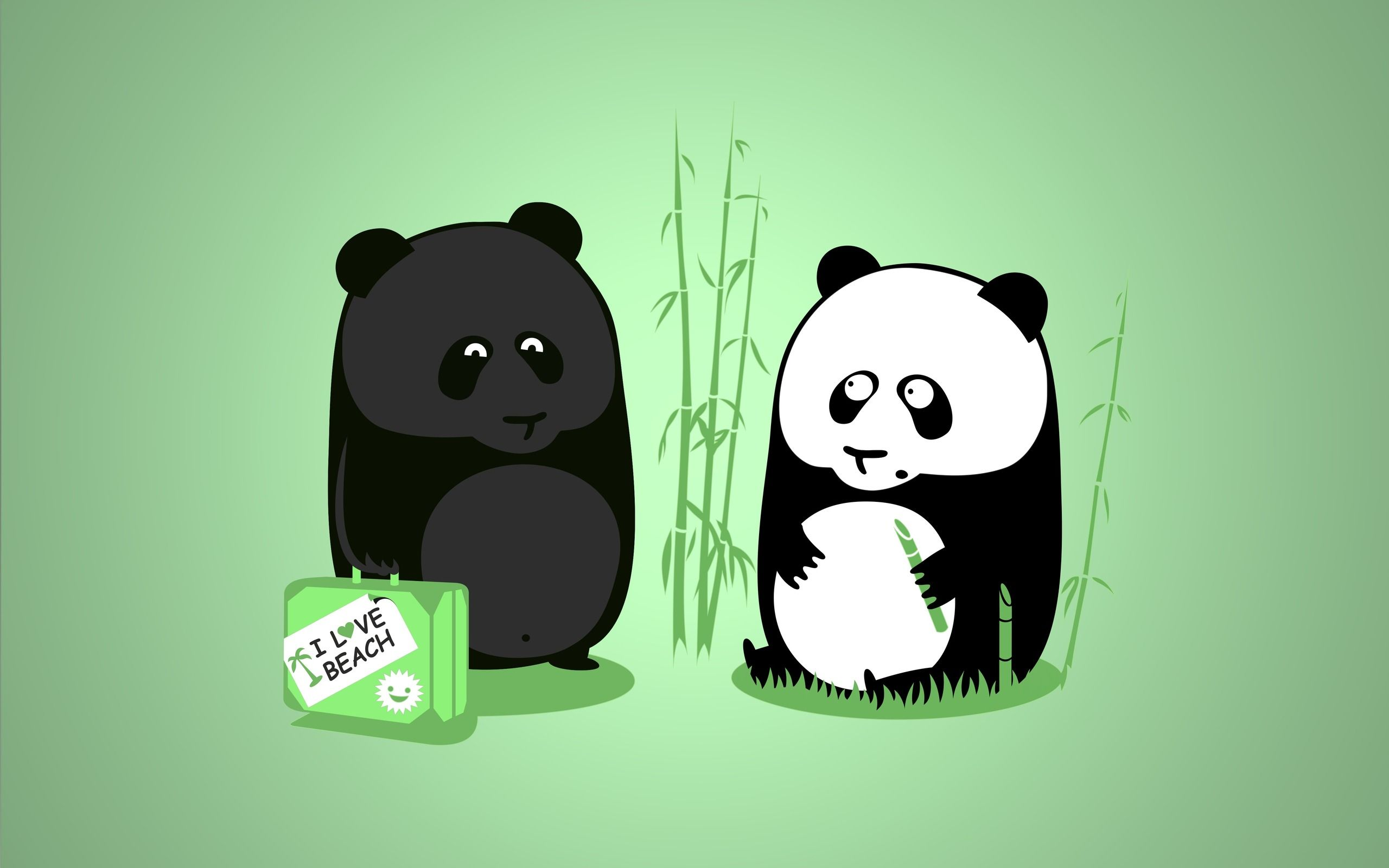 Tanned Panda Wallpaper (14680) - Wallpaperesque