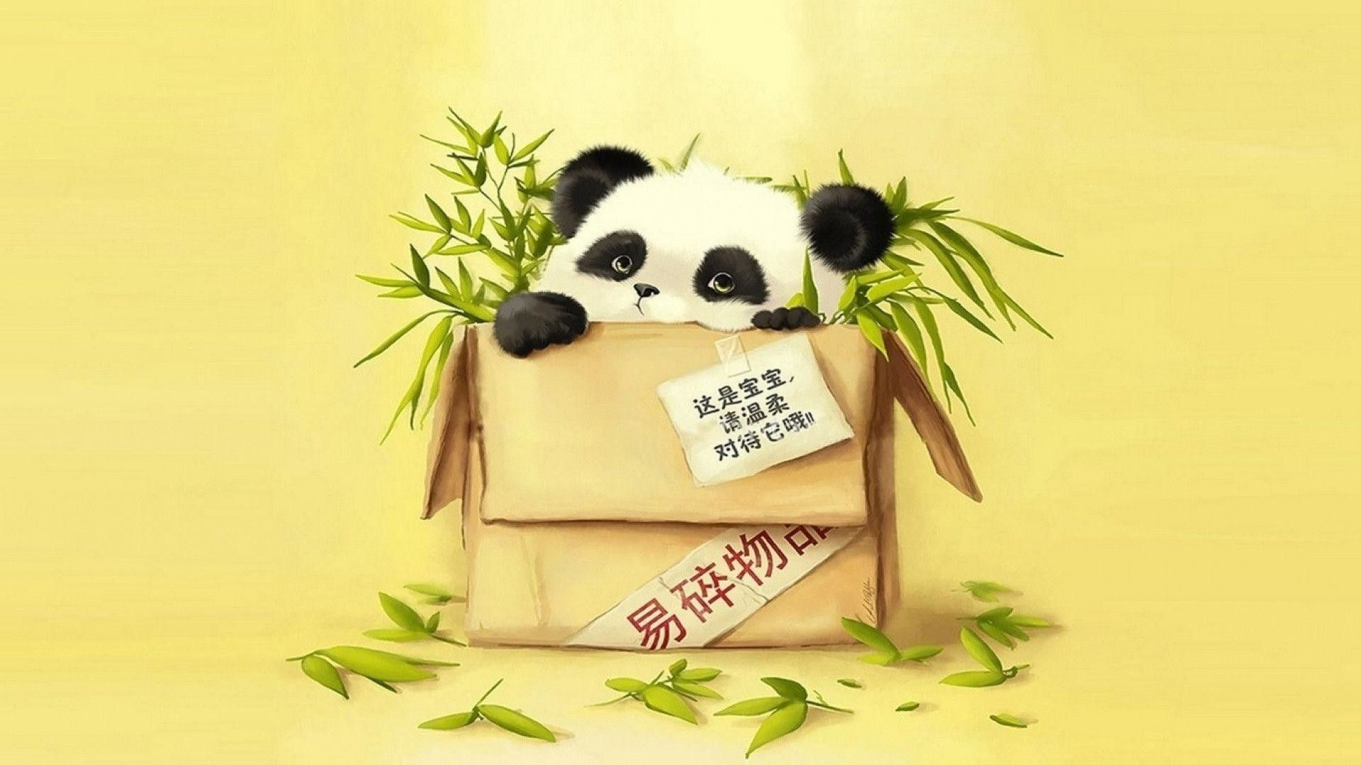 Cartoon Panda Wallpapers (77+ images)