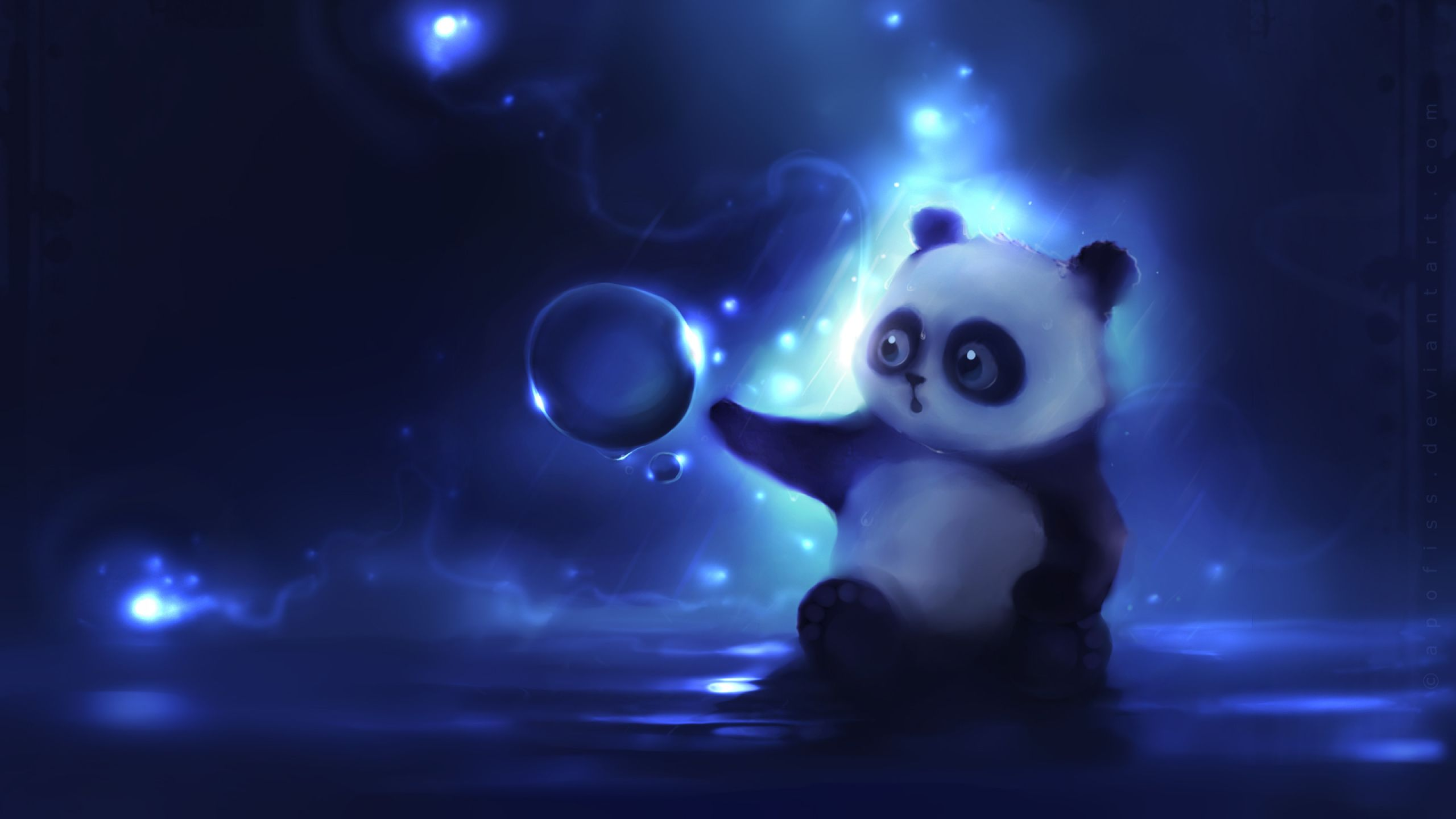 Mac iMac 27 Panda Wallpapers HD, Desktop Backgrounds 2560x1440 ...