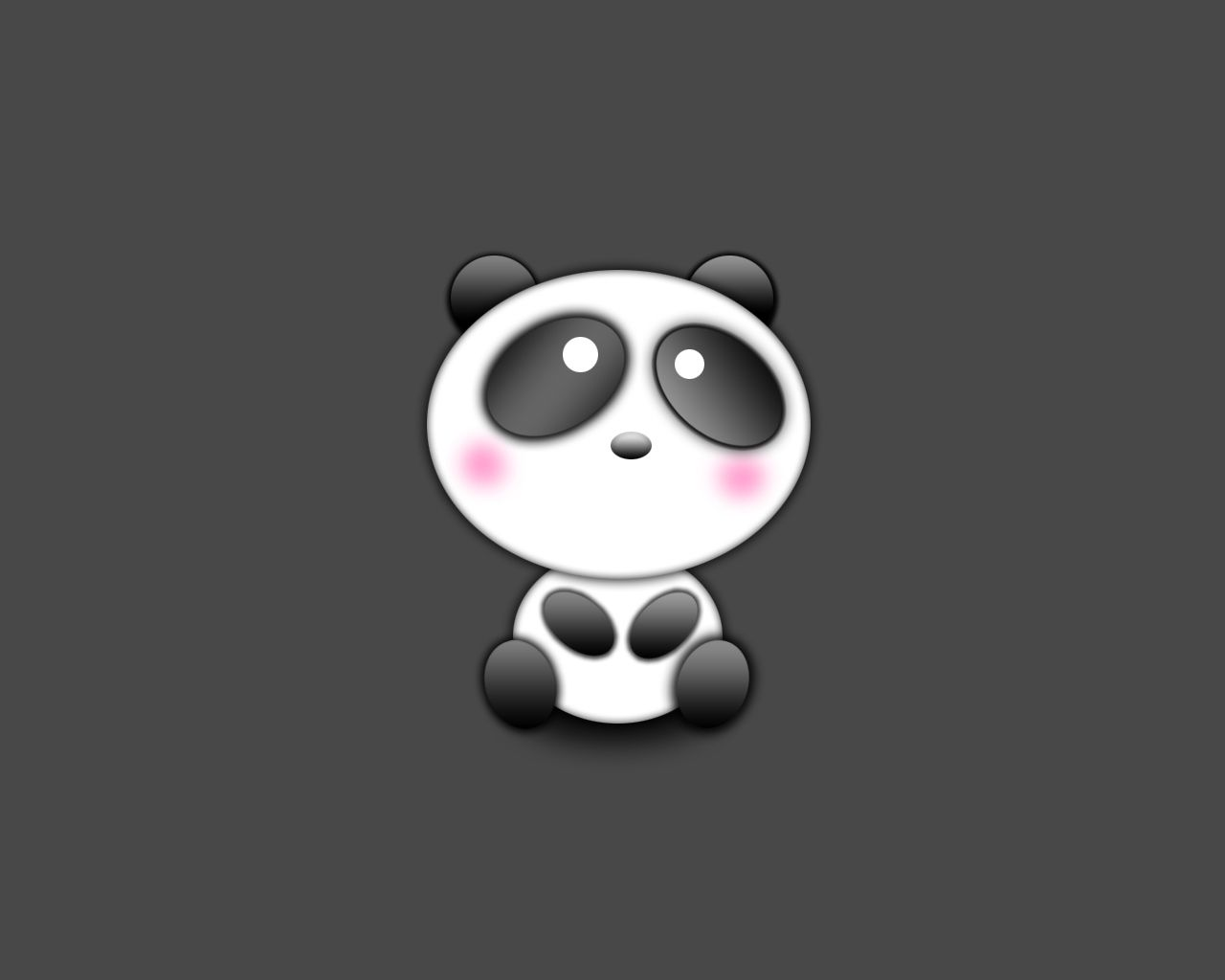 Cute Panda Wallpaper Background HD Desktop Wallpaper, Instagram ...