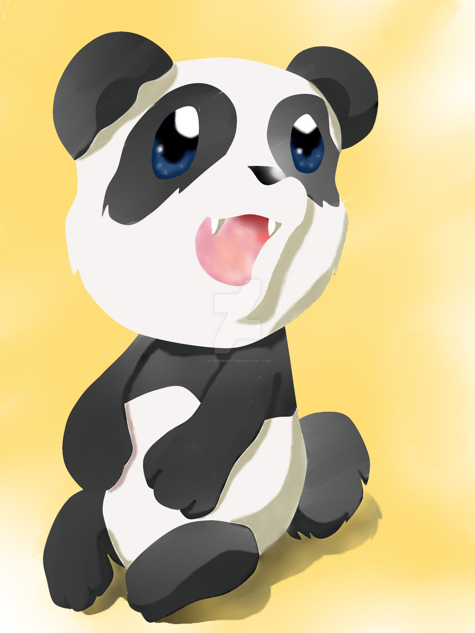 Cute Panda Wallpapers (64+ pictures)