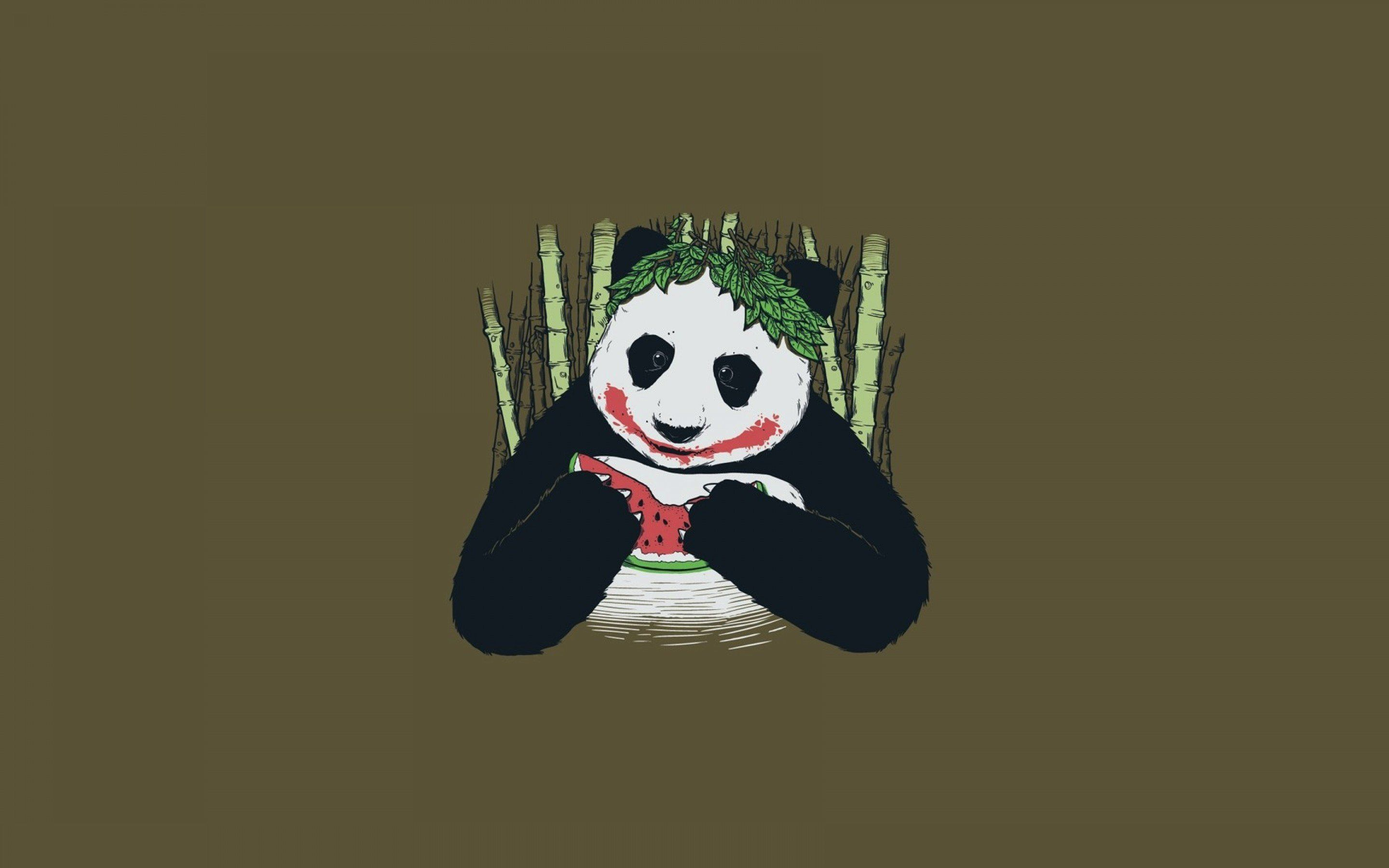 Panda Funny - WallDevil