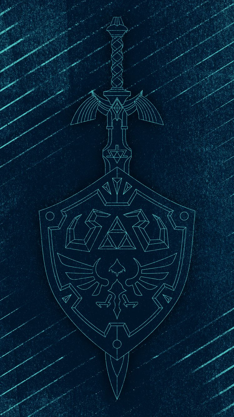 Hylian Weapons Wallpapers for iPhone 6&7 - Album on Imgur