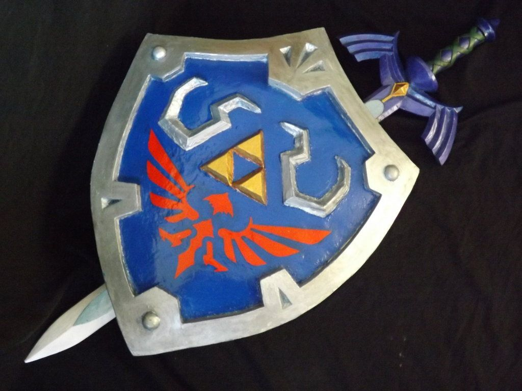 Master sword and Shield Skyward Sword 01 by DonnixProps on DeviantArt