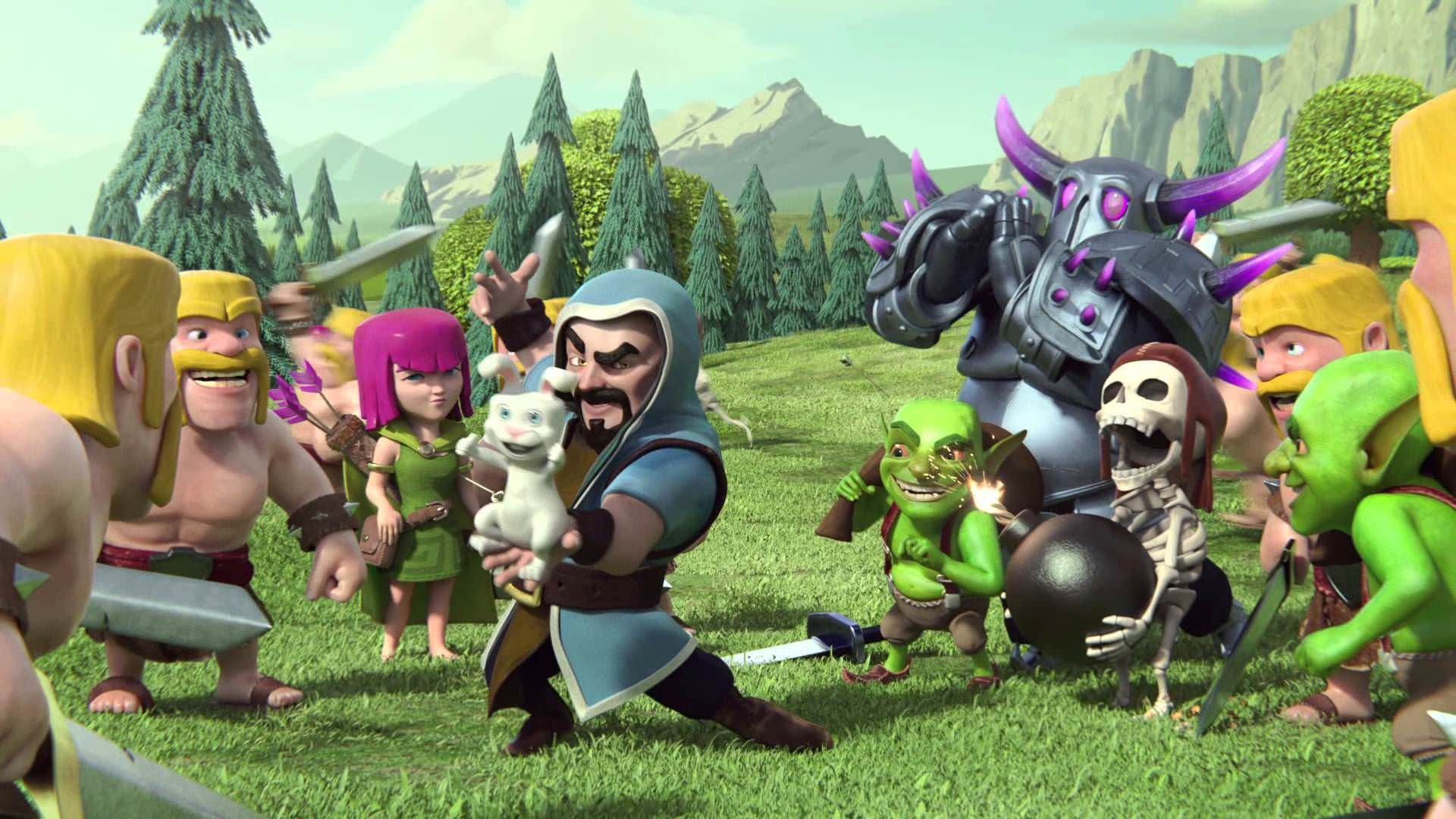 Backgrounds Clash Of Clans Hd Collection Game With Animeted Coc ...