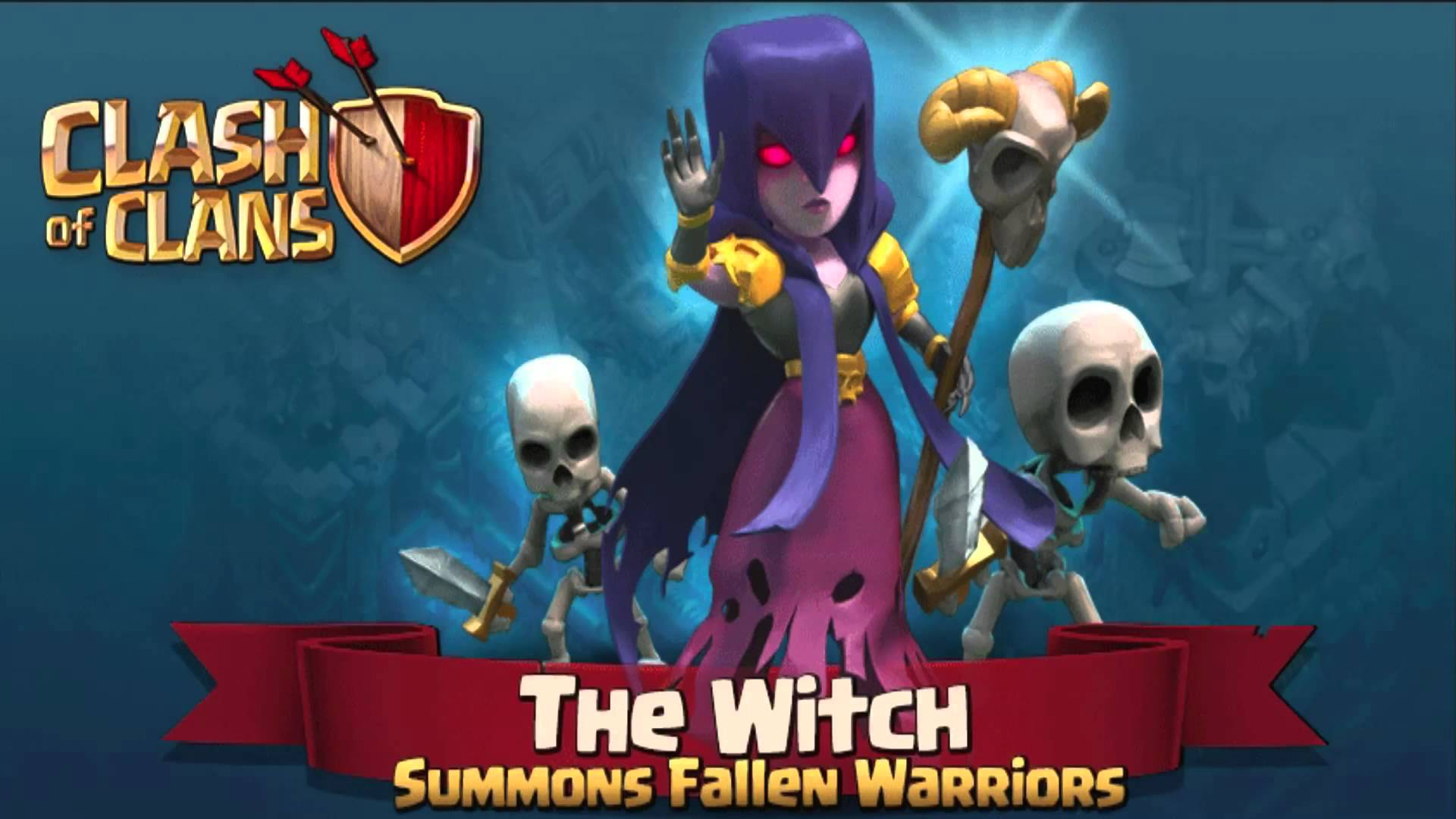 Clash of Clans Halloween Update Full HD / 1280×720 Clash Of Clans ...