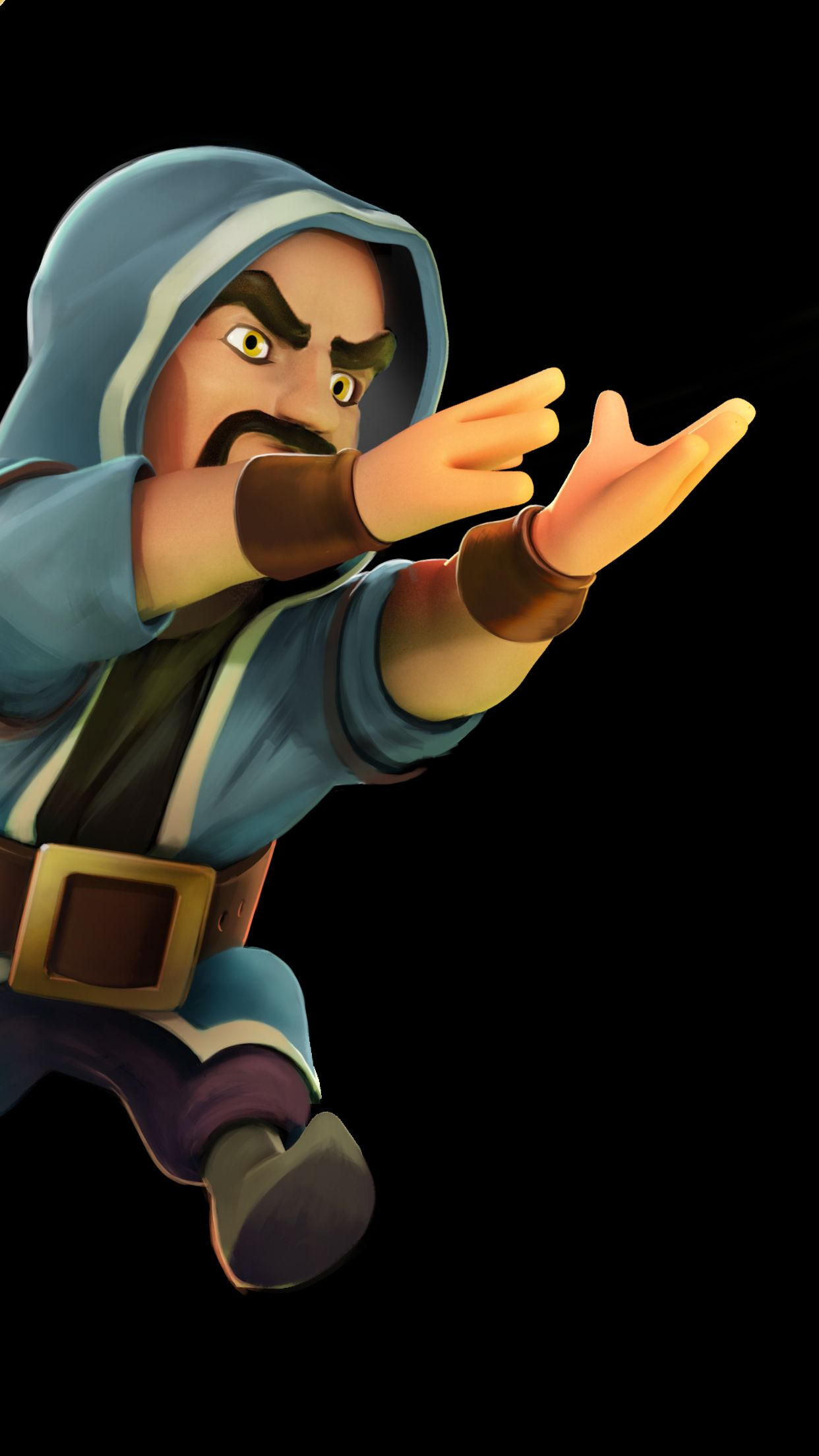 Wallpaper Hd Iphone Clash Of Clans Wizard Desktop Clan For High ...