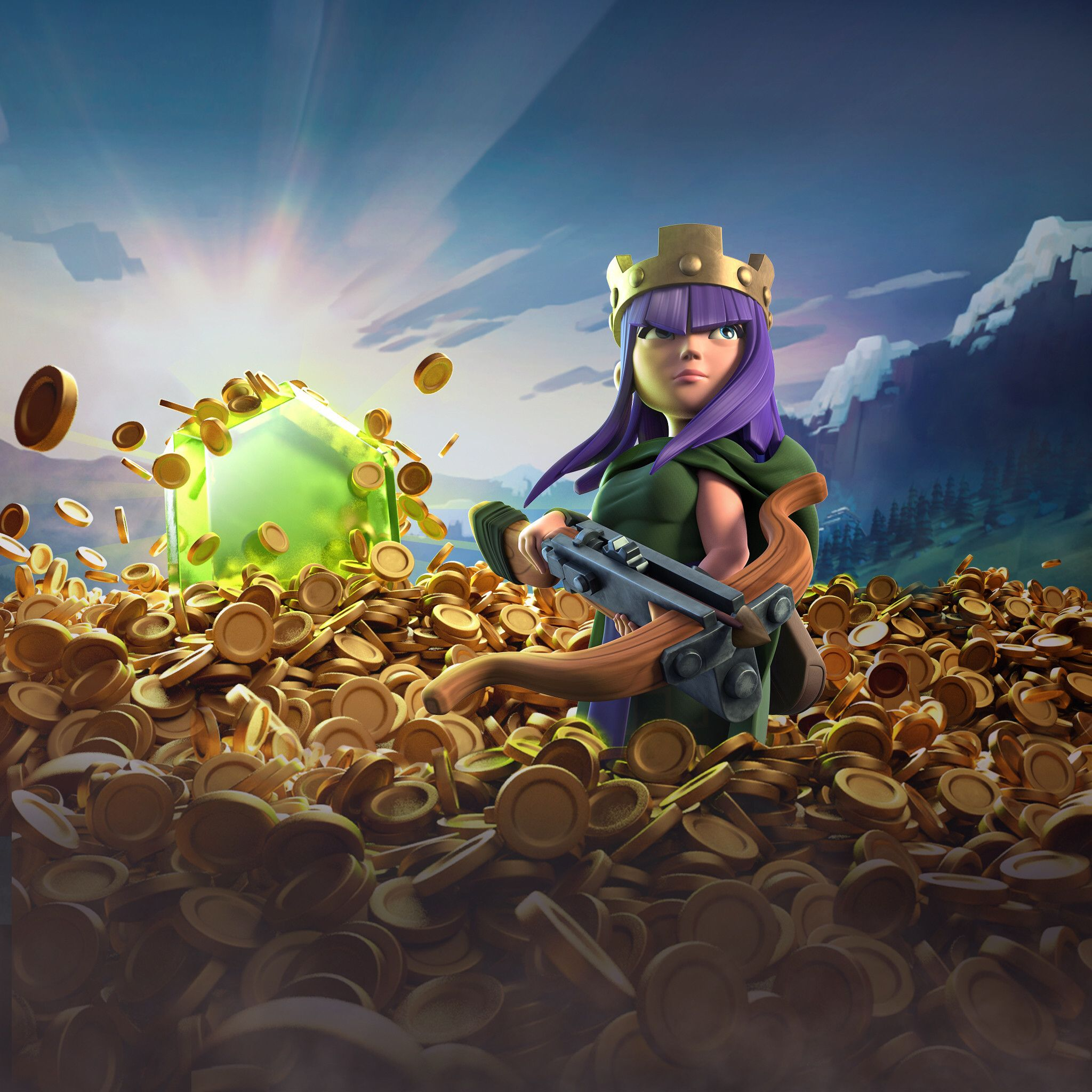 Archer Queen Clash Of Clans, HD Games, 4k Wallpapers, Images ...