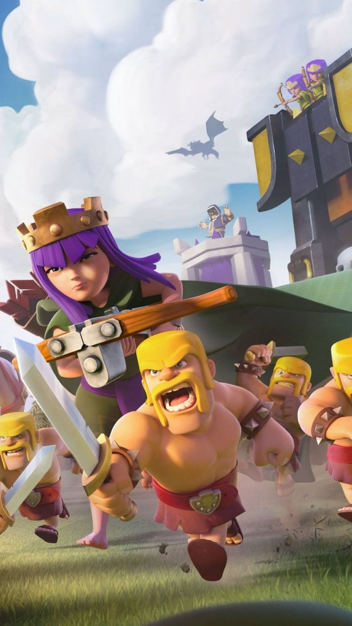 Lumia 535 - Video Game/Clash Of Clans - Wallpaper ID: 685037
