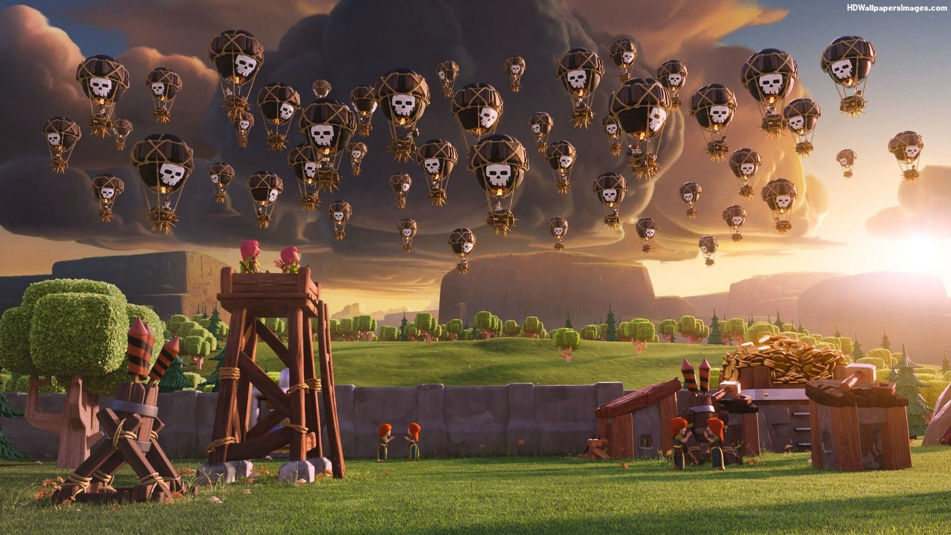 clash of clans wallpaper [1920x1080] : wallpapers
