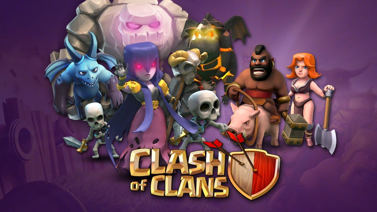 Game Clash Of Clans Icon Wallpaper Widescreen Character Hd For ...