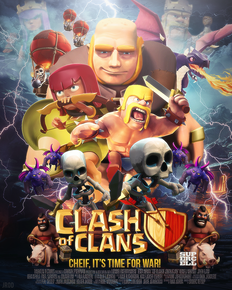 Iphone Clash Of Clans Wallpaper Full Hd Backgrounds Clan For ...
