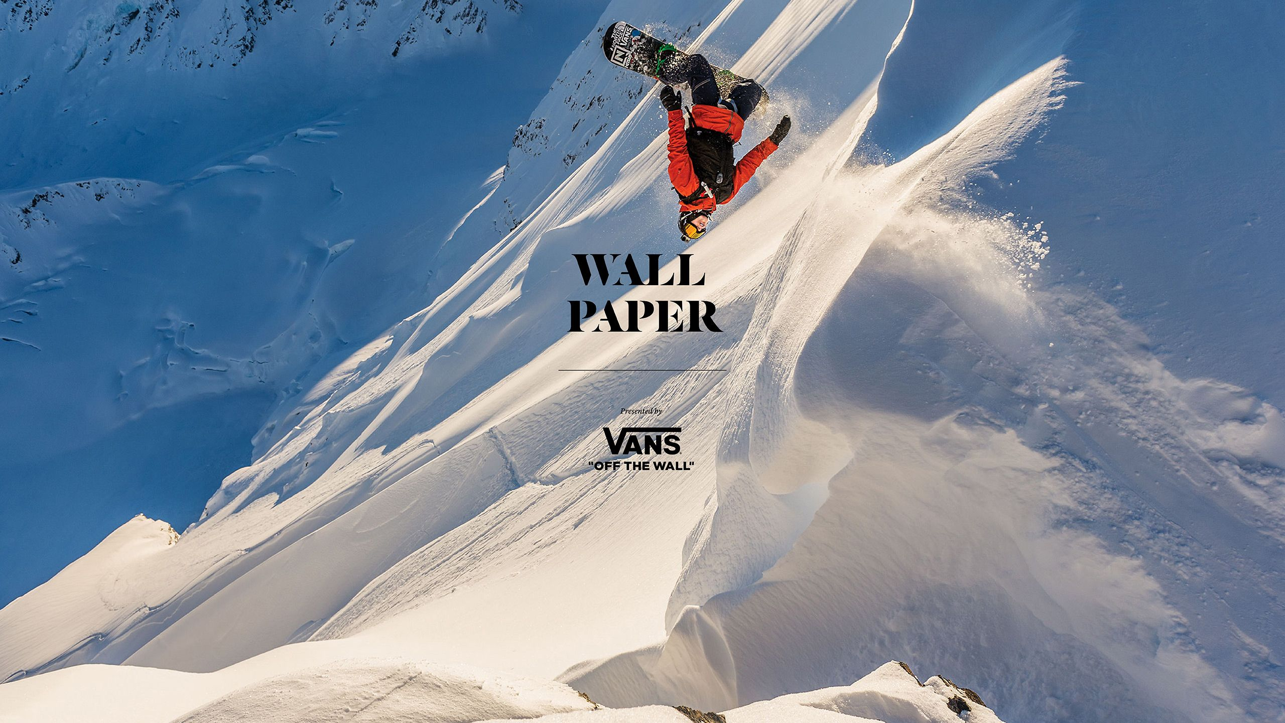 Wallpaper Wednesday: Vans Team in Alaska | TransWorld SNOWboarding