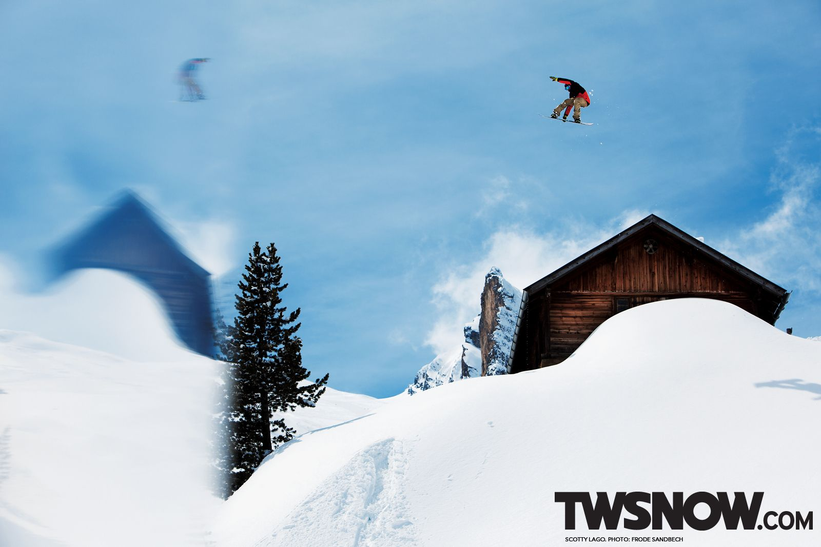 Wallpaper Snowboarding Shaun White