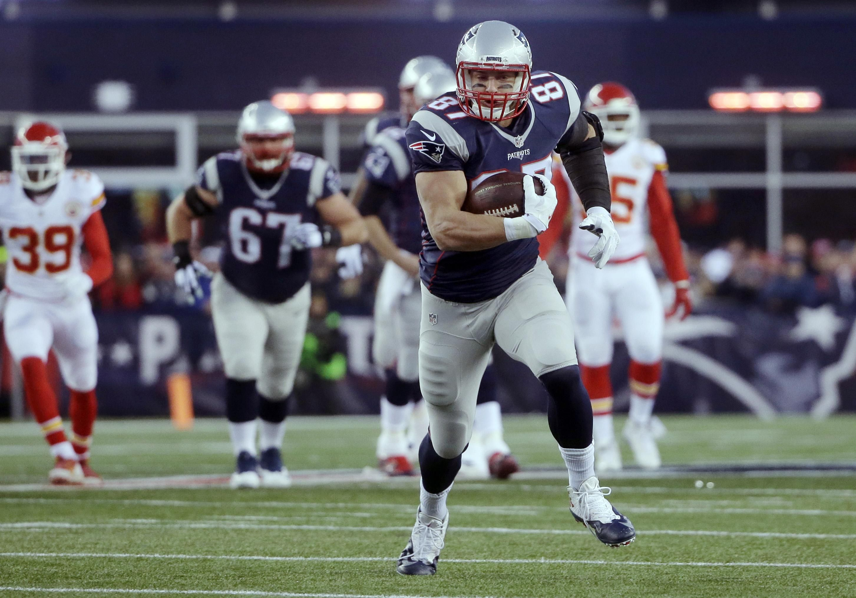Patriots' Rob Gronkowski lands Madden cover   The Spokesman-Review