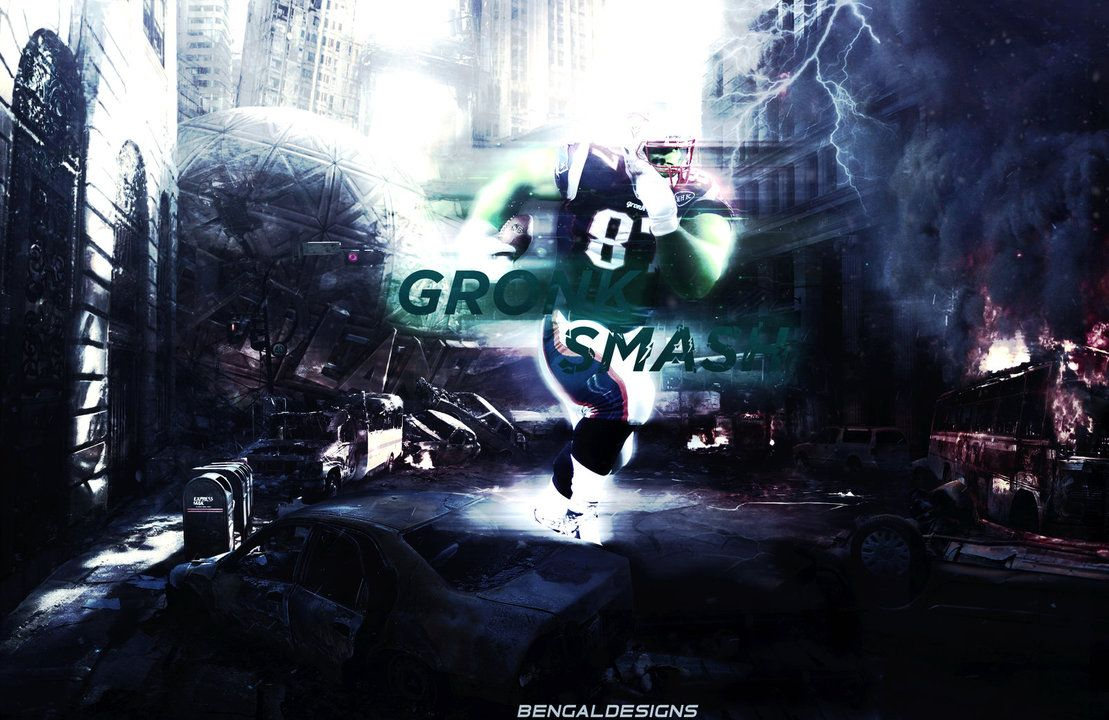 Rob Gronkowski Wallpaper by BengalDesigns 'HULK' by bengalbro on ...