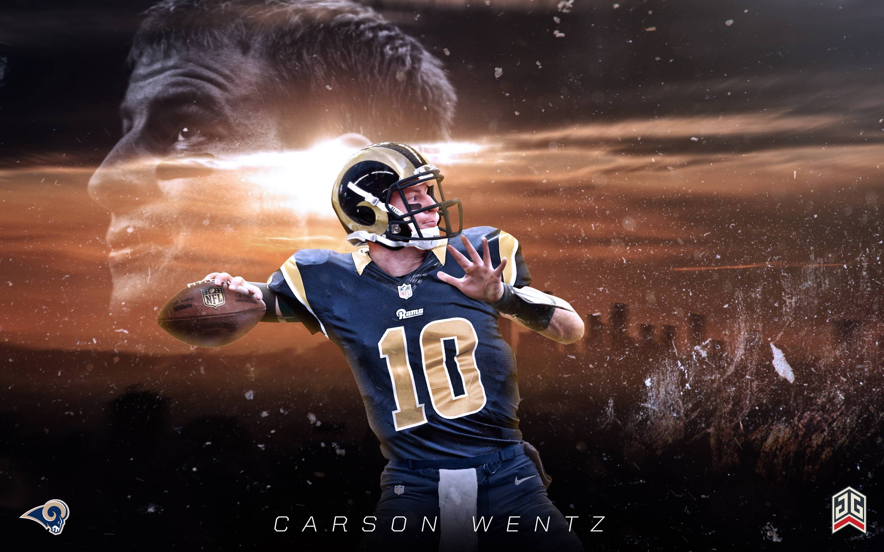 Carson Wentz LA Rams wallpaper : LosAngelesRams