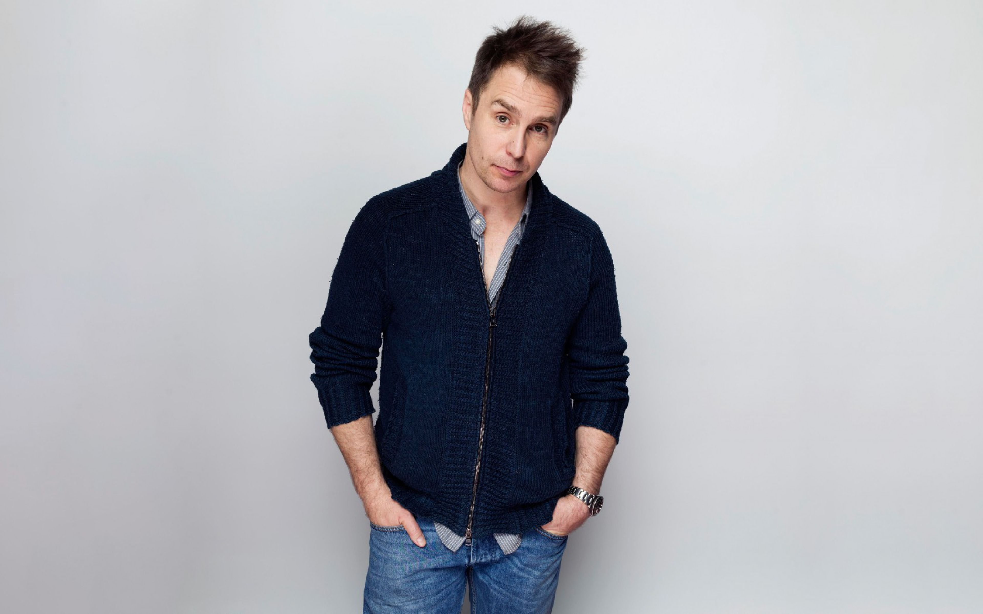 Sam Rockwell Widescreen Wallpaper 57239 3840x2400 px ...