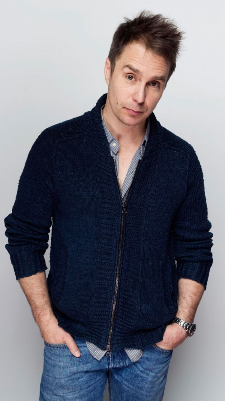Download Wallpaper 750x1334 Sam rockwell, Actor, Photoshoot ...