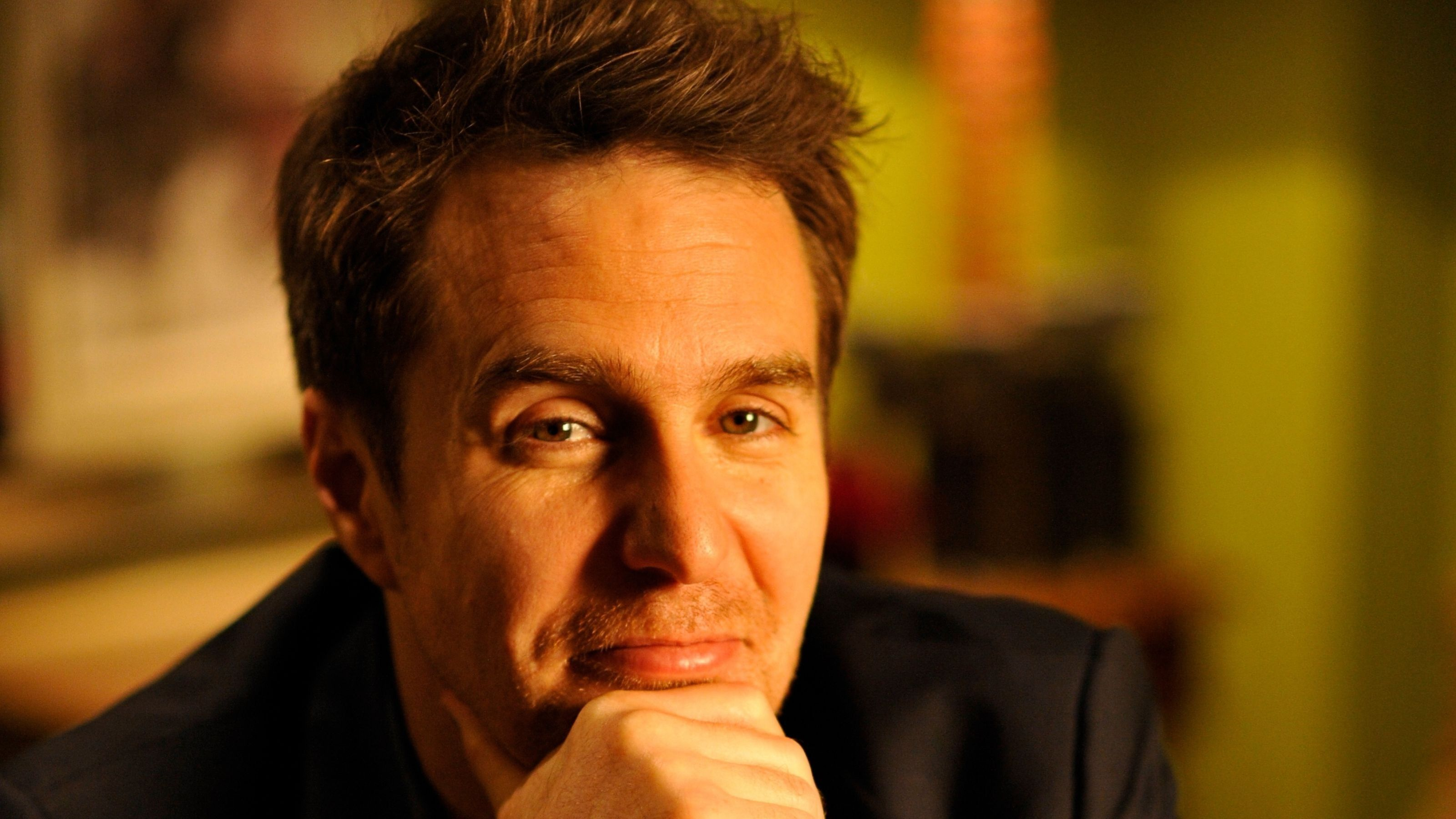 Download 3200x1800 Sam Rockwell, Face Portrait, Close-up ...