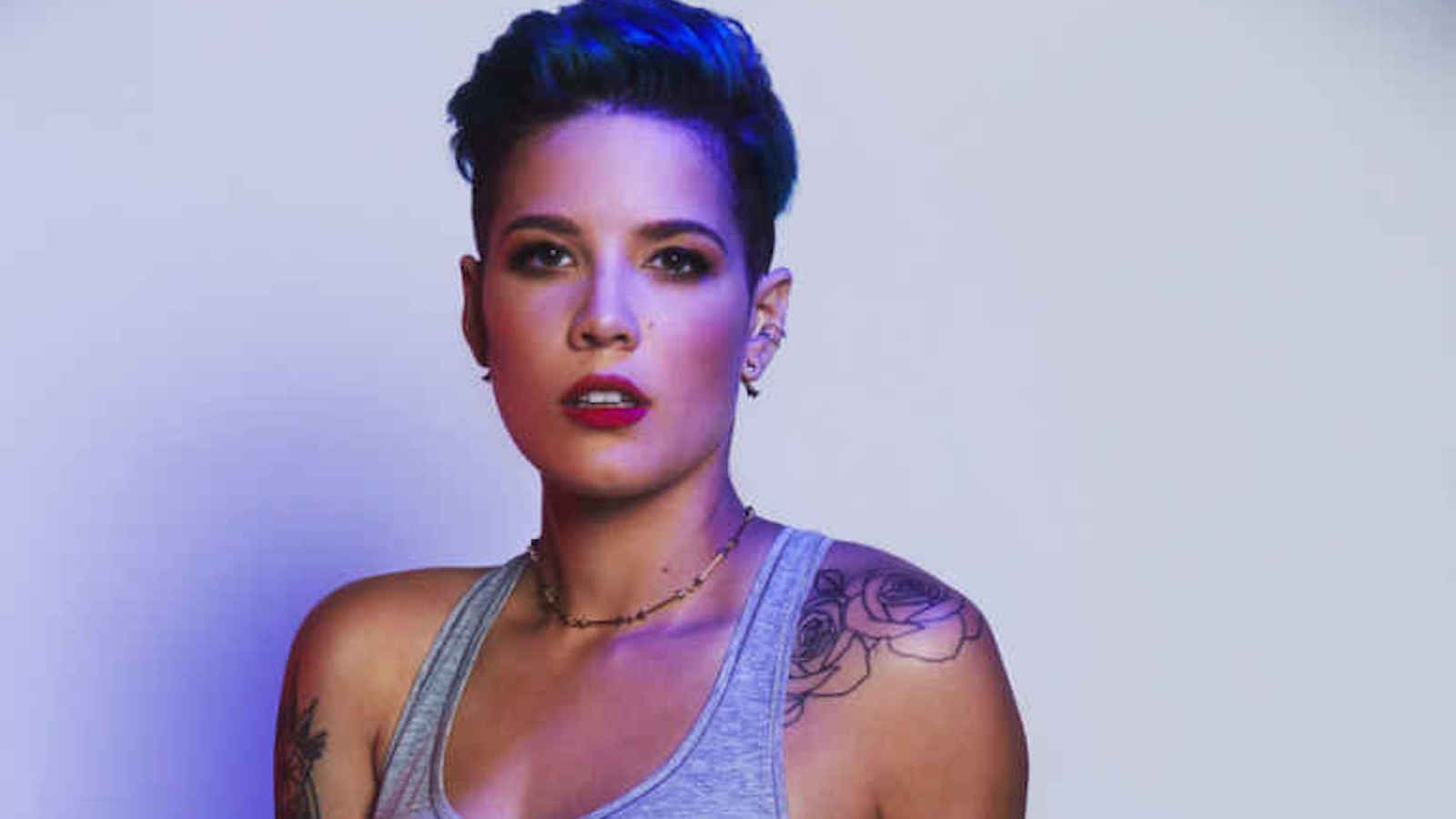 Singer Halsey Shows Skin & Confidence in 'Playboy' Shoot