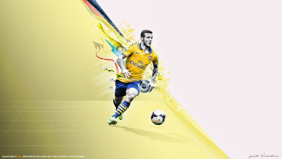 Jack Wilshere 0880 by namo,7 by 445578gfx on DeviantArt