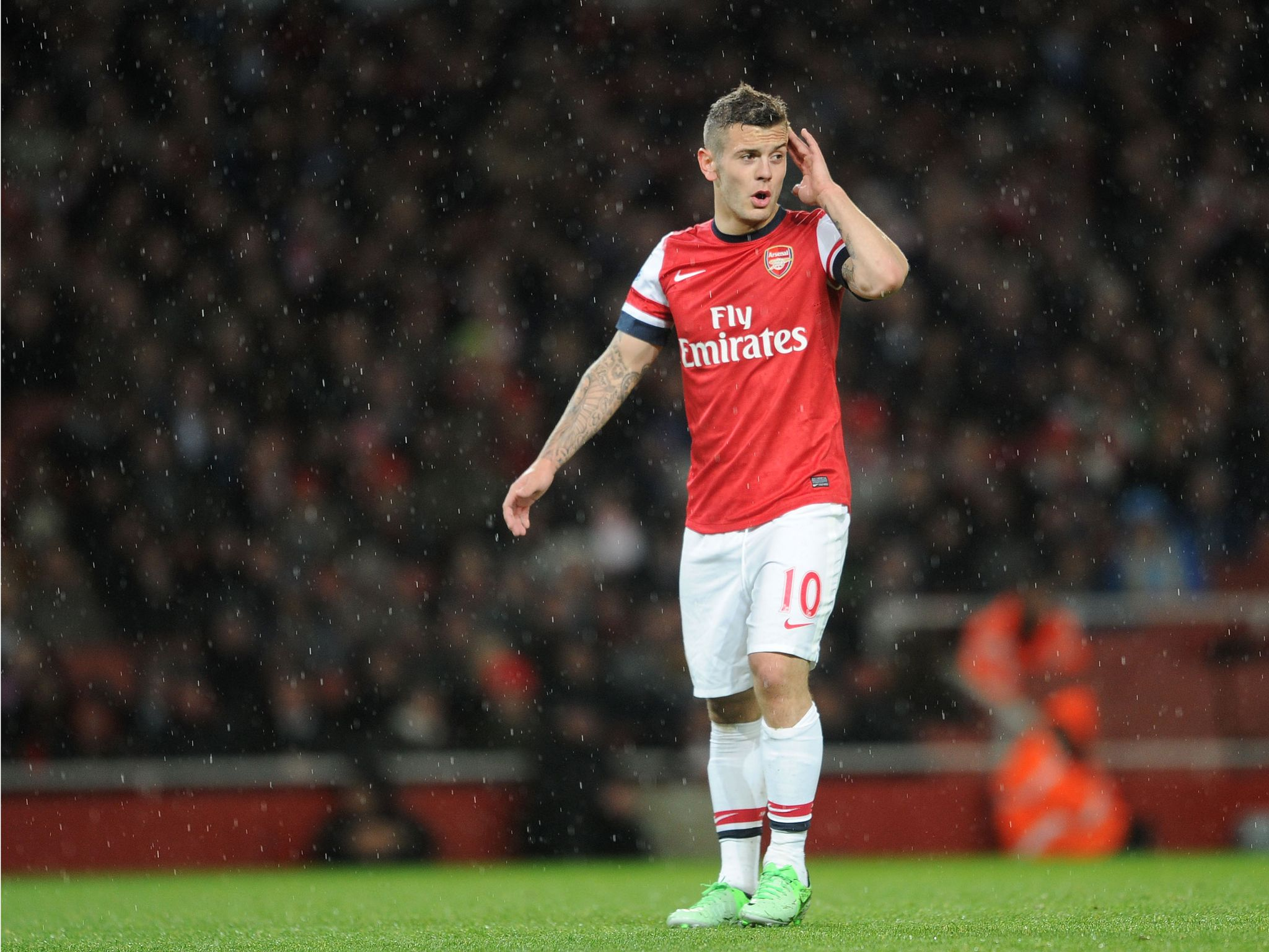 Arsenal's Jack Wilshere set to start biggest year of his life in ...