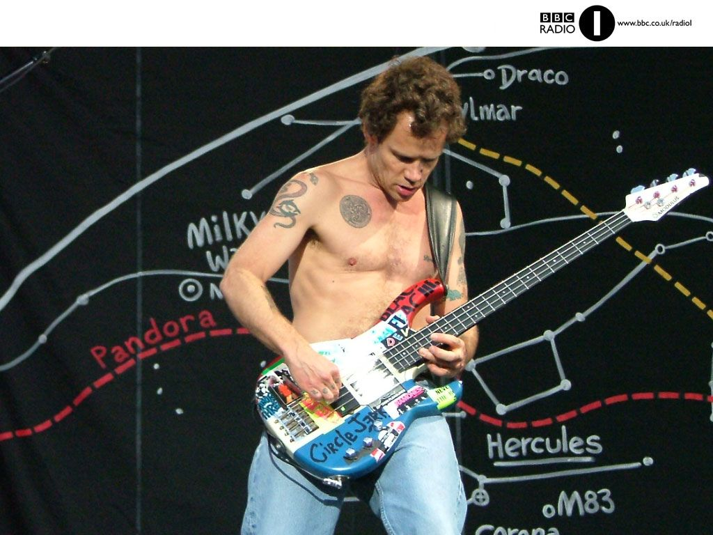BBC - Radio 1 - Red Hot Chili Peppers - Hyde Park Wallpaper