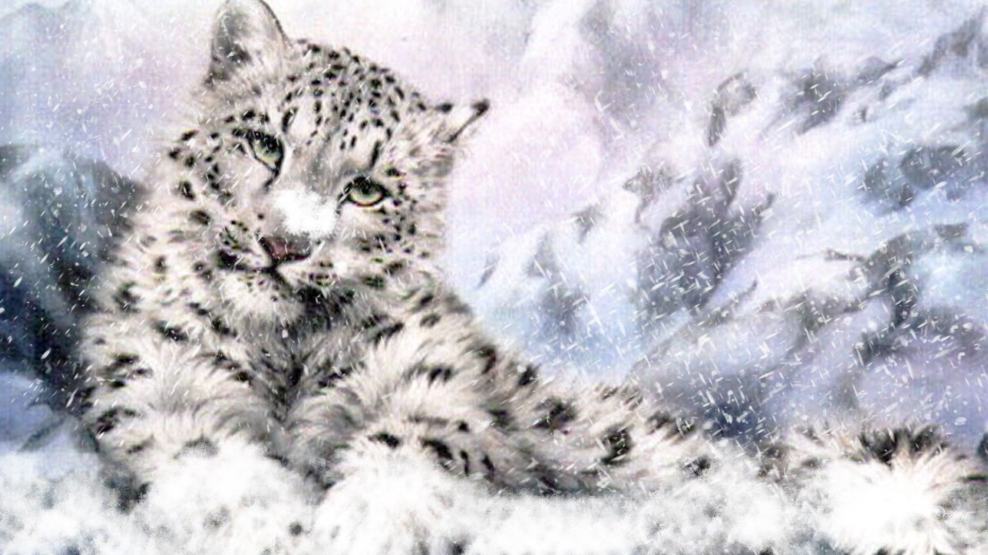 Image - Wallpapers-of-Snow-Leopard-HD.jpg | Animal Jam Clans Wiki ...