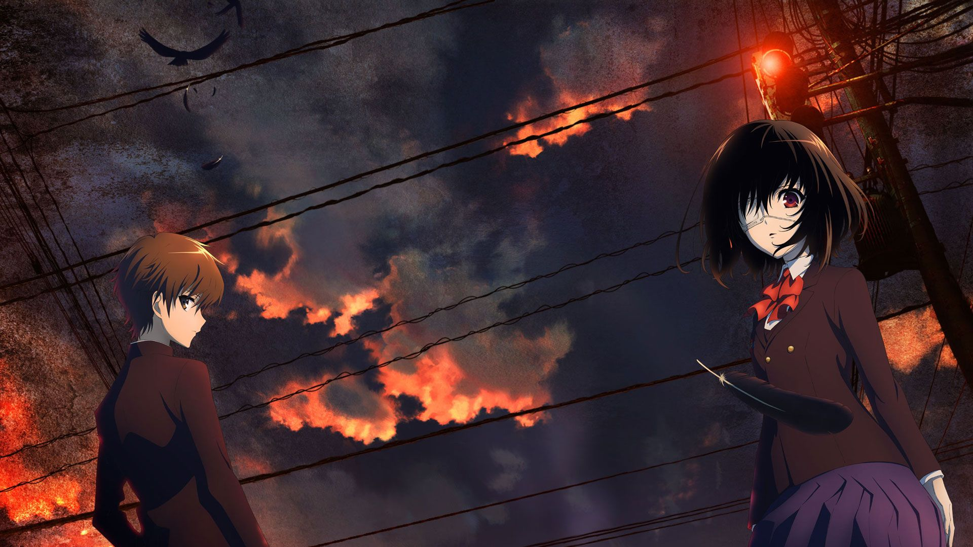 Another, Anime, Misaki Mei, Anime Girls Wallpapers HD / Desktop ...