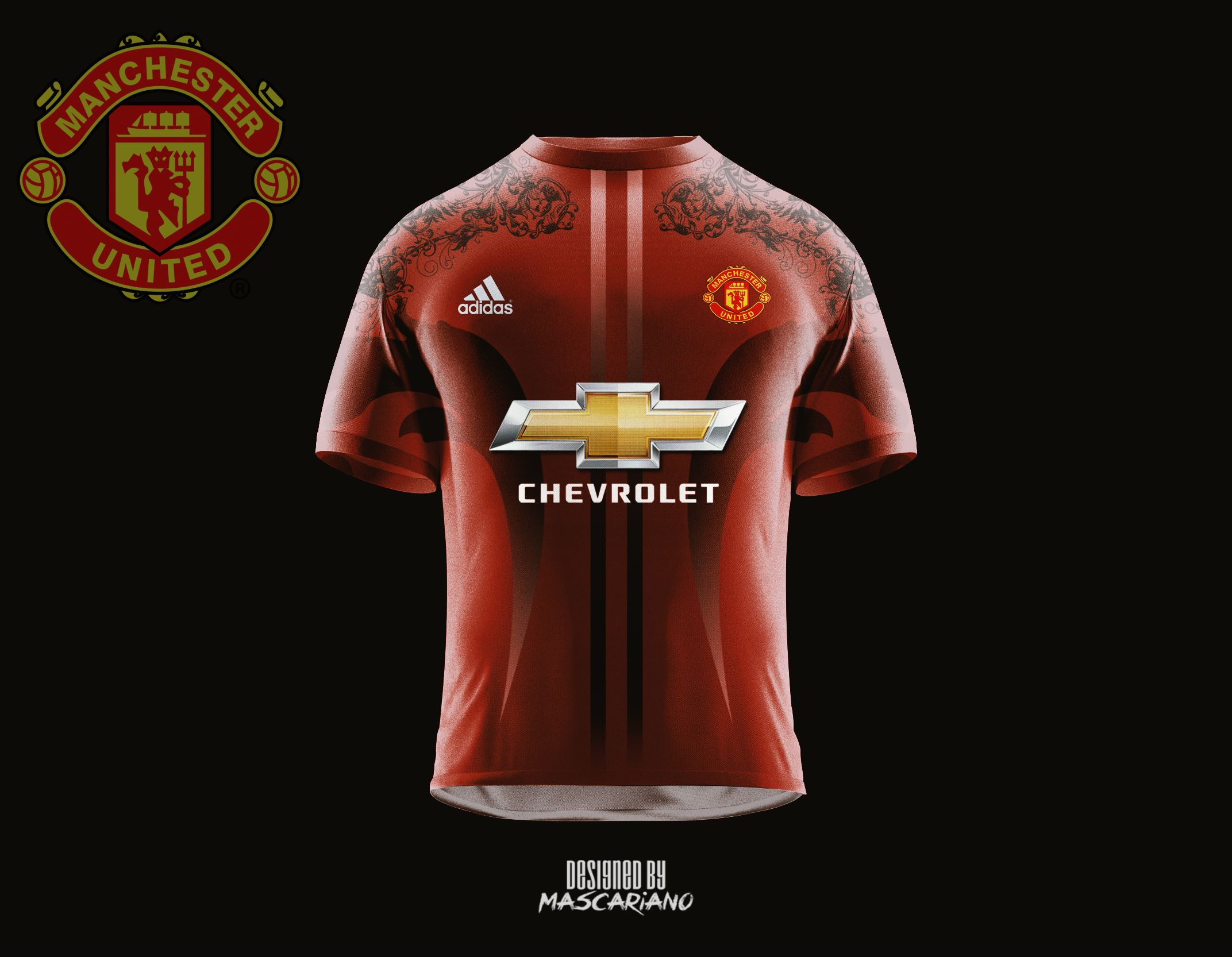 Manchester United 2017/2018 Concept Kit by Mascariano on ...
