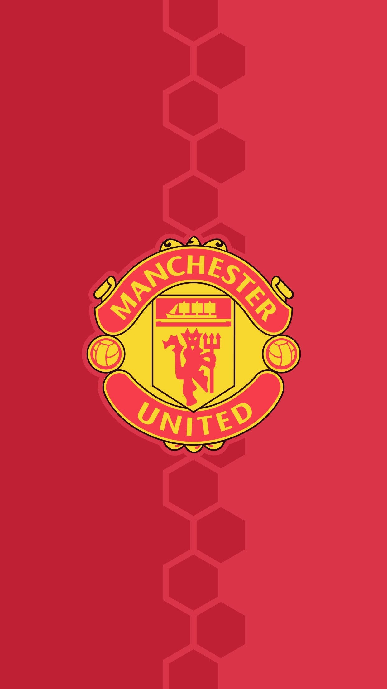 Wallpaper Logo Manchester United 2018 ·①