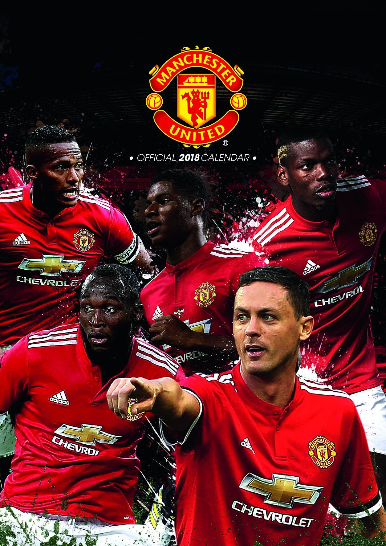 Manchester United F.C. Official 2018 Calendar - A3 Poster Format ...