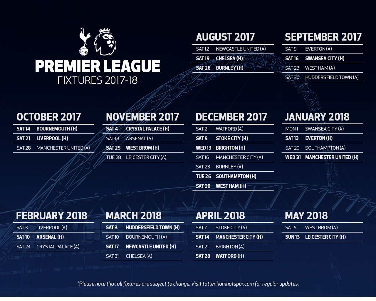 swansea city fixtures