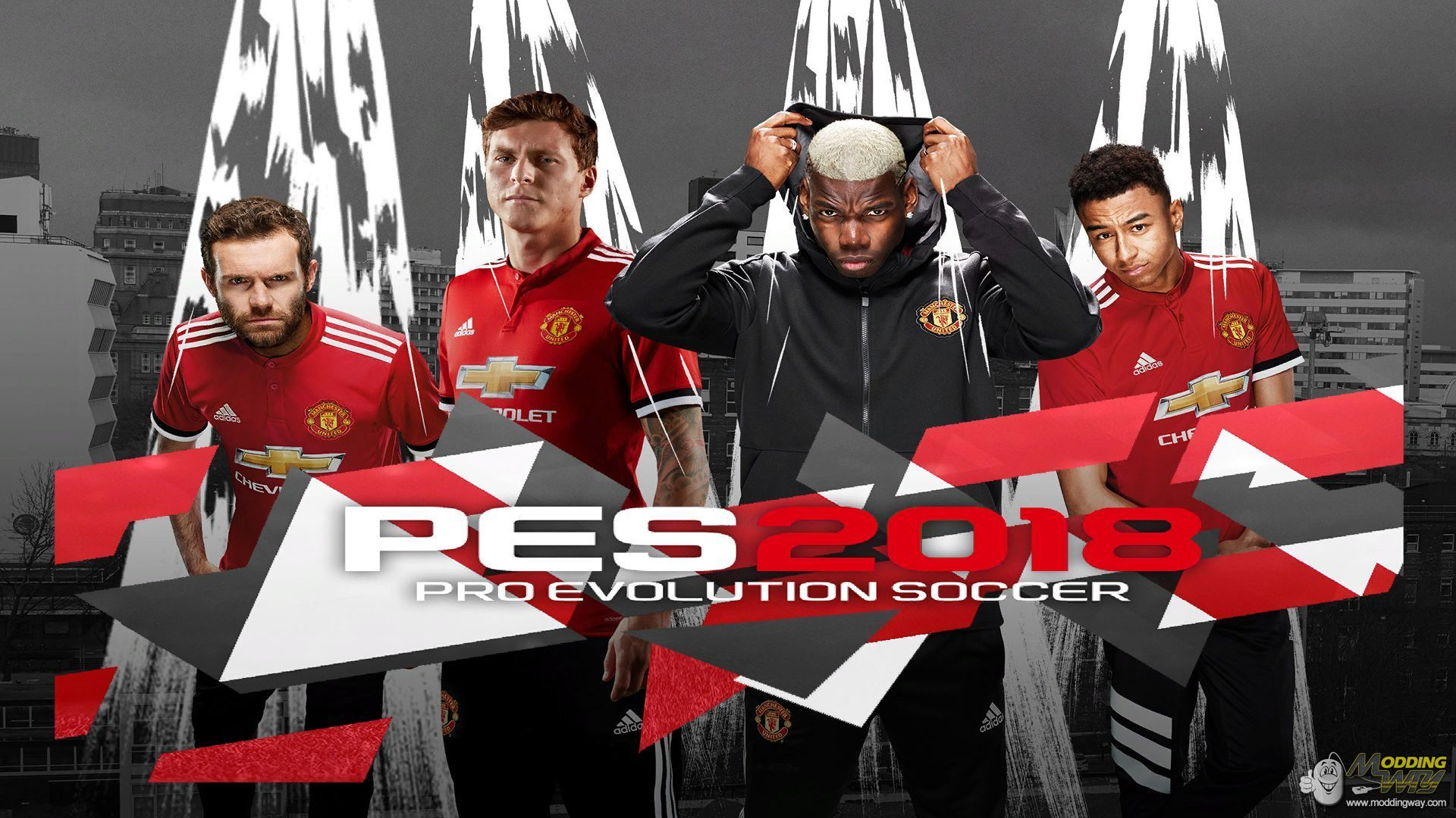 Manchester united Start Screen CPK - Pro Evolution Soccer 2018