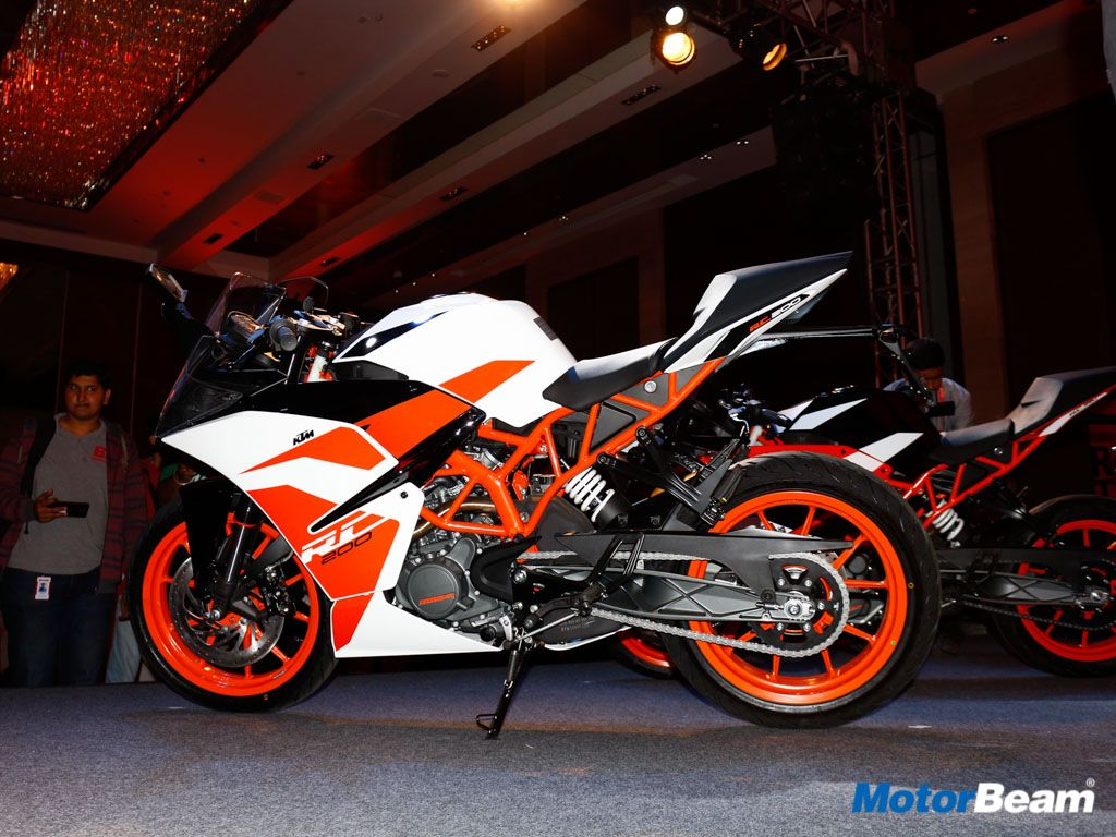 2017 KTM RC 200, RC 390 Launched, Priced From Rs. 1.72 Lakhs ...